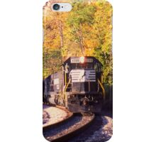Eggleston, VA Coal Drag - Virginian Railway iPhone Case/Skin