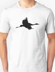 Crane bird Unisex T-Shirt