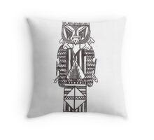 Tiki Fighter Throw Pillow
