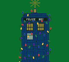 Happy Christmas from the TARDIS by LeslieHarris