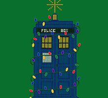 Happy Christmas from the TARDIS by LeslieHarris
