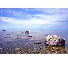 Shoreline Meditation Photographic Print