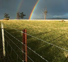 Rainbow, East Coast Tasmania by NickMonk