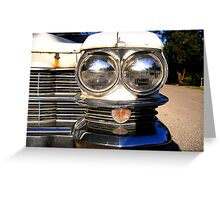 Classic Chrome Greeting Card