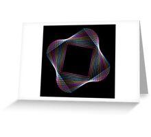 Metal Frames Greeting Card