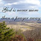 God is never more... by Valeria Lee