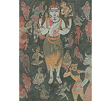 Shiva & his Devotees Photographic Print