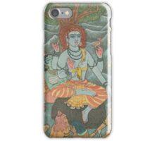 Shiva Gives Discourse on Yoga iPhone Case/Skin