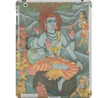 Shiva Gives Discourse on Yoga iPad Case/Skin