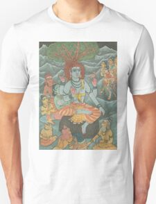 Shiva Gives Discourse on Yoga Unisex T-Shirt