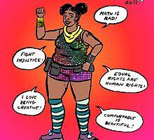 Empowerment Didi Doll by Tatiana  Gill
