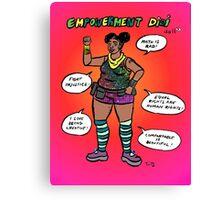 Empowerment Didi Doll Canvas Print