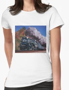 Nickel Plate Road #765 - New River Train Womens Fitted T-Shirt