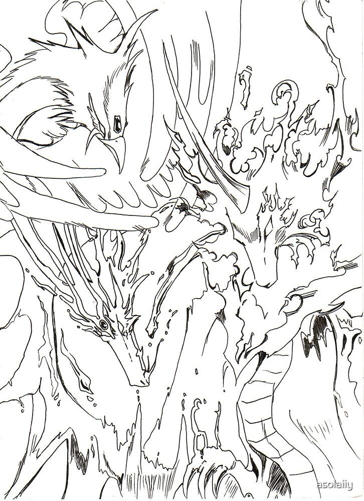 Creatures by asolaiiy