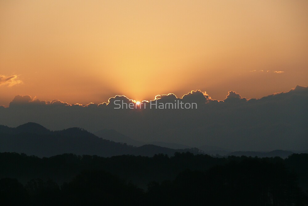 Mountain Magic, Sunrise by Sherri Hamilton