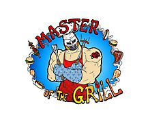 Master Of The Grill Photographic Print