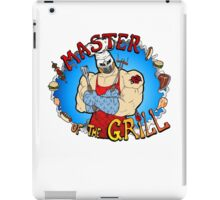 Master Of The Grill iPad Case/Skin
