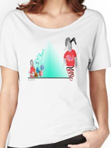 The deconstruction of scatsy Women's Relaxed Fit T-Shirt