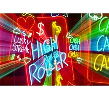Hindley Street Neon Photographic Print