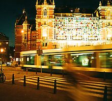 Amsterdam @ Night by Camilla