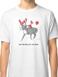 Blitzen the Christmas Reindeer Classic T-Shirt