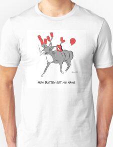 Blitzen the Christmas Reindeer Unisex T-Shirt