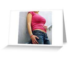 Female Beauty Greeting Card
