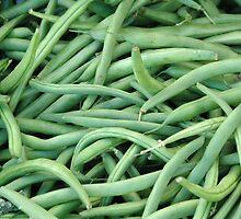 Green Beans by oscarcwilliams