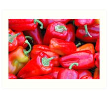 Red Peppers Art Print