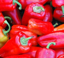Red Peppers by oscarcwilliams