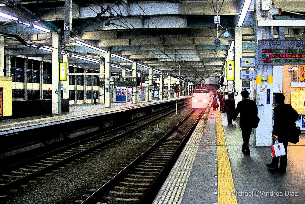 Shinkansen To Kyoto by Michael D'Andrea Diaz
