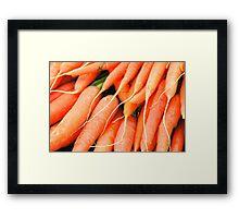 Carrots Framed Print