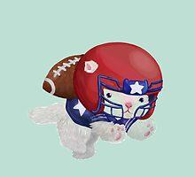 Football Kitten by CtrlAltLee