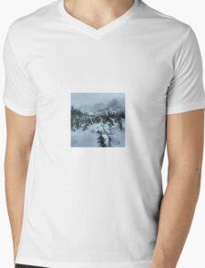 backcountry splitboarding Mens V-Neck T-Shirt