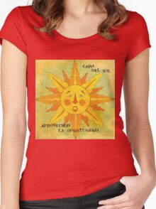 MEXICALI SUN CARA DEL SOL Women's Fitted Scoop T-Shirt
