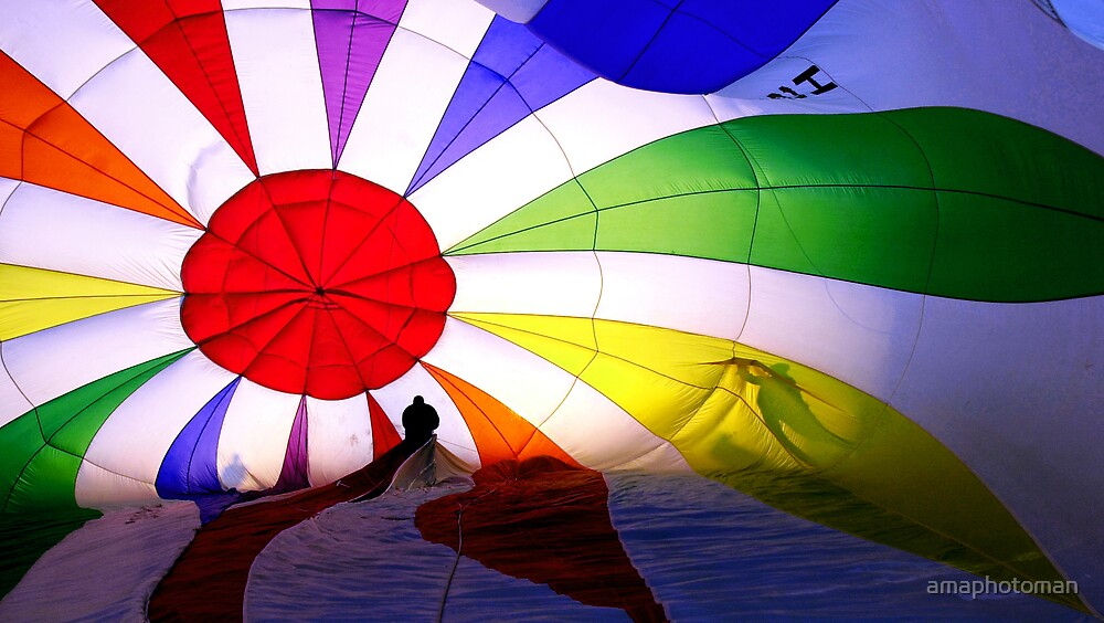 Colorful Hot Air by amaphotoman