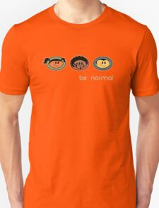 Be Normal: Super Normal Diversity Friends - Earthtones T-Shirt