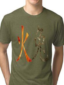 Fire Rabbit  1927 and 1987  Tri-blend T-Shirt