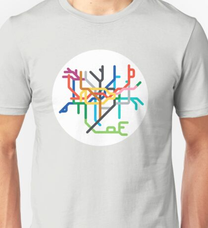 Mini Metro - London, United Kingdom Unisex T-Shirt