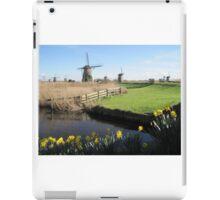 Kinderdijk, Netherlands iPad Case/Skin