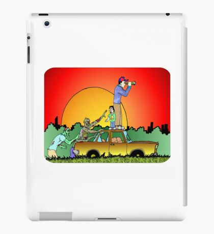 Looks Clear of Zombies iPad Case/Skin