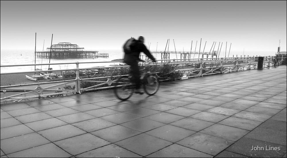 Brighton, England by John Lines