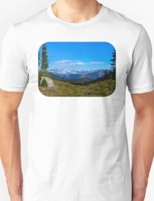 Country mountain view T-Shirt