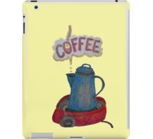 Morning COFFEE iPad Case/Skin