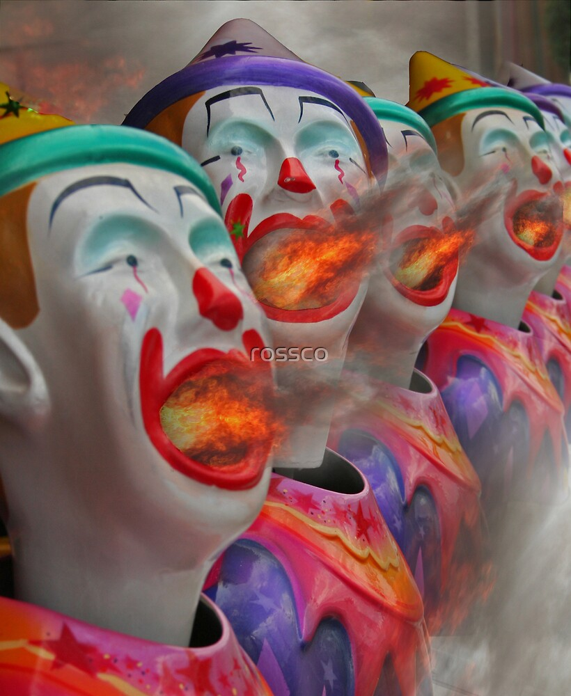 The Evil Sideshow Clowns by rossco