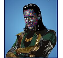 Up All Night To Get Loki by clarissafonseca