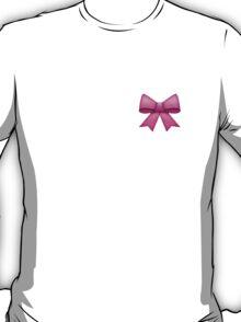 Pink Emoji Bow T-Shirt