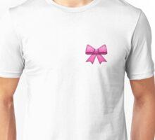 Pink Emoji Bow Unisex T-Shirt