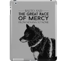 Great Race of Mercy iPad Case/Skin