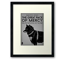 Great Race of Mercy Framed Print
